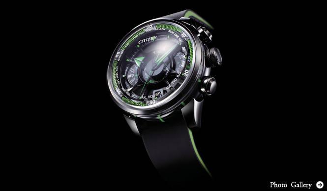CITIZEN 電波時計のさらに先を行く、新・時刻修正&ワールドタイムシステム搭載モデルをお披露目