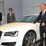 Audi|アウディ サッカー日本代表とのコラボシャツプレゼント!