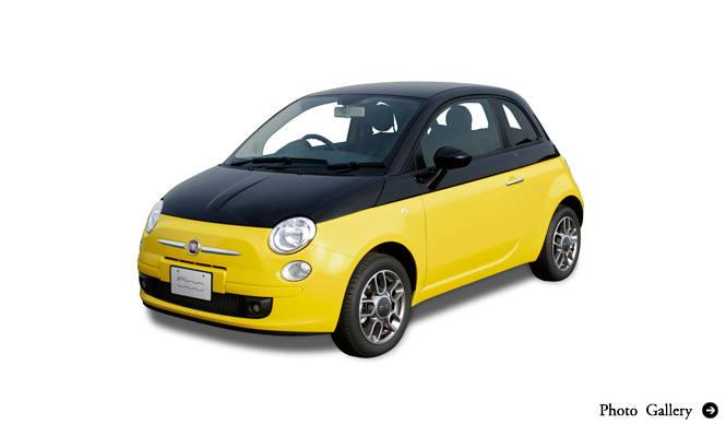FIAT 500 POP-BI|フィアット 500 ポップ ビー ミツバチカラーの特別製チンク