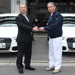 Audi A1|アウディ A1 医師会に5台を貸与