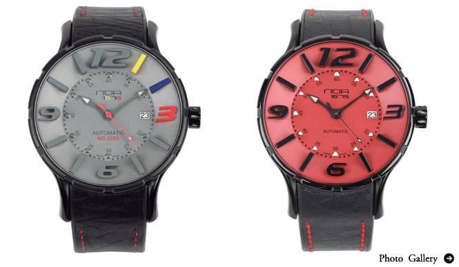 N.O.A イタリアのセンスとスイスの時計技術が融合 新感覚ラグジュアリー・ウォッチ