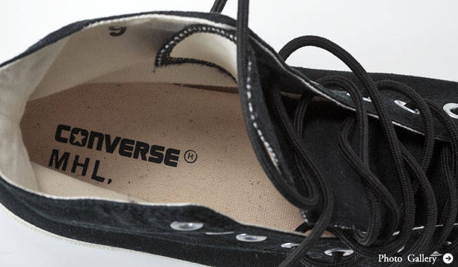 MARGARET HOWELL 「MHL.×CONVERSE」初コラボレーションシューズ