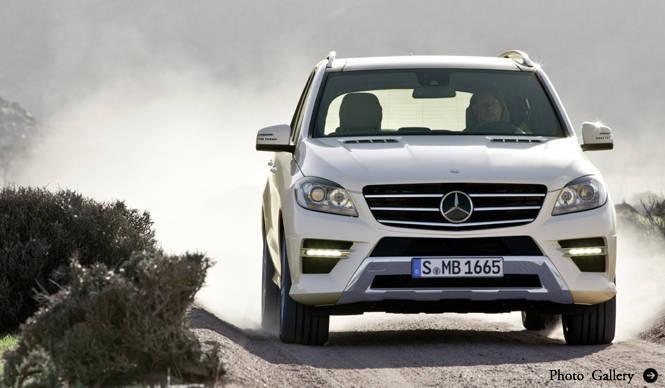 Mercedes-Benz M-Class|メルセデス・ベンツ Mクラス 3代目の登場!