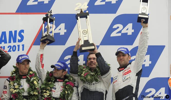 Peugeot ル・マン24時間、13.854秒差で惜しくも2位!