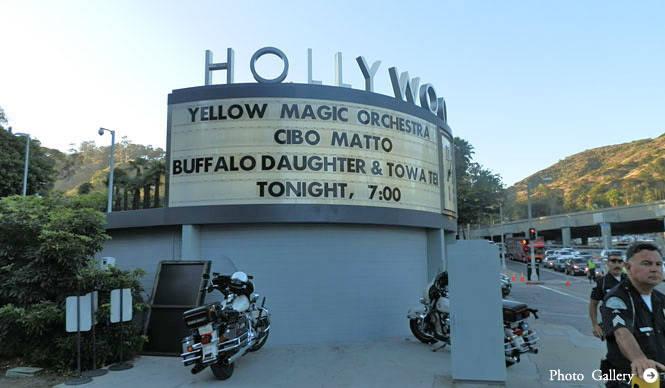 Yellow Magic Orchestraアメリカ西海岸ツアー