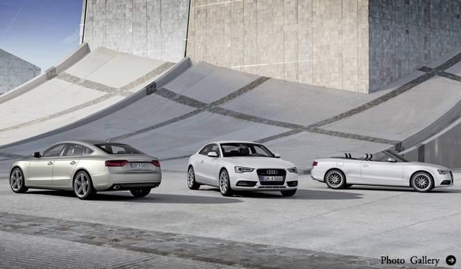 Audi A5|アウディ A5 新型を公表!
