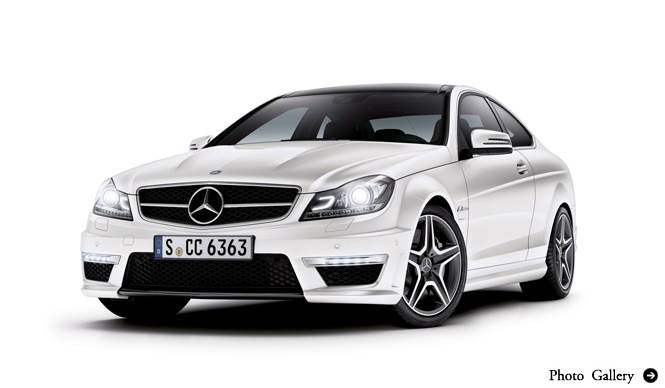 Mercedes-Benz C 63 AMG|メルセデス・ベンツ C 63 AMG 予約受付開始!