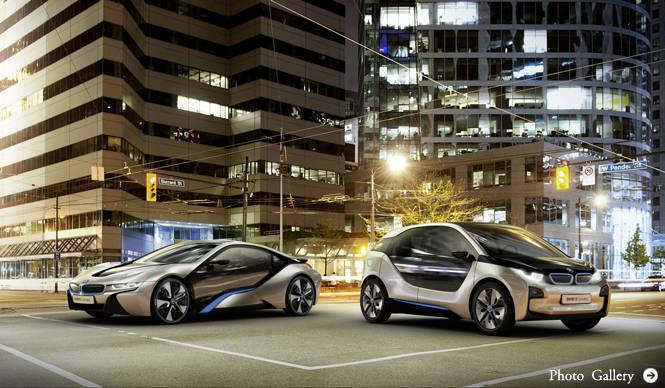 BMW i|ビー・エム・ダブリュー i 2台の車輛の詳細を公表