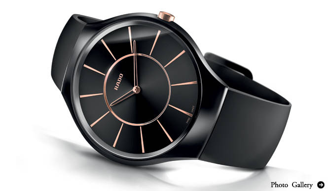 RADO|薄さ5ミリの世界最薄時計! 「ラドー トゥルー シンライン」コレクションデビュー