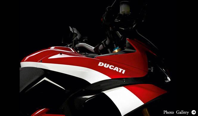Ducati|Webで予約できる「Multistrada1200S Pikes Peakスペシャルエディション」