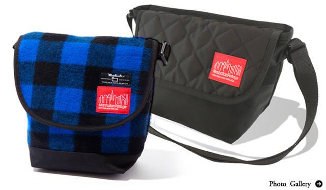 Manhattan Portage|ウールリッチ®とのコラボレーションバッグ!