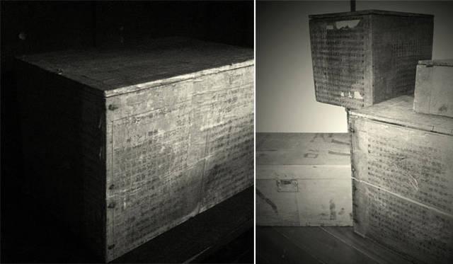 さる山|箱ばかりの「和紙張木箱」展 開催