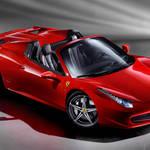 Ferrari 458 SPIDER|フランクフルトに登場
