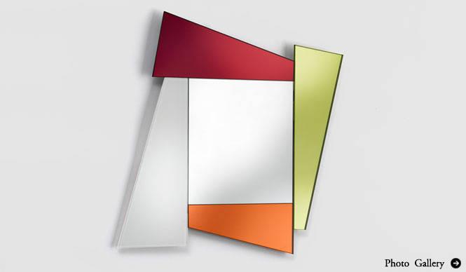 interiors|ガラスと異素材の融合「Glas Italia」コレクション