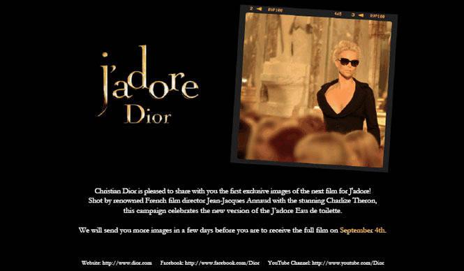 Dior|「ジャドール」が香るシャーリーズ セロン主演イメージフィルム