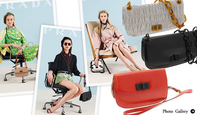 PRADA|2012年春夏バッグ、伊勢丹ザ・ステージにて先行販売