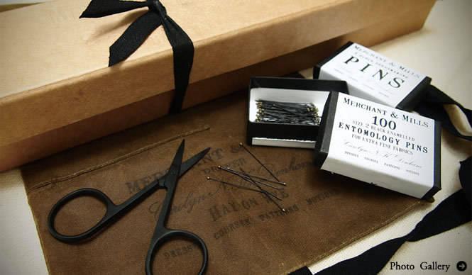 MERCHANT&MILLS|美しいパッケージと、高品質の裁縫道具