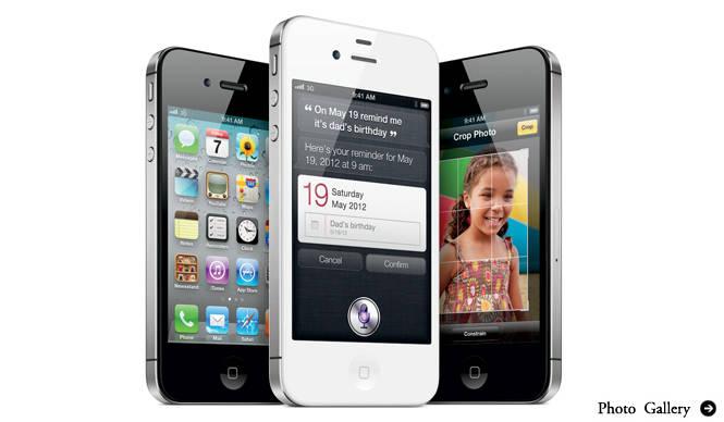 iPhone 4S|外見はそのままに、大幅にグレードアップ!