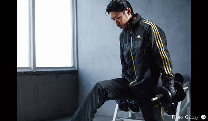 adidas|「adidas×EXILE」メンズトレーニング秋冬モデルにエグザイル登場