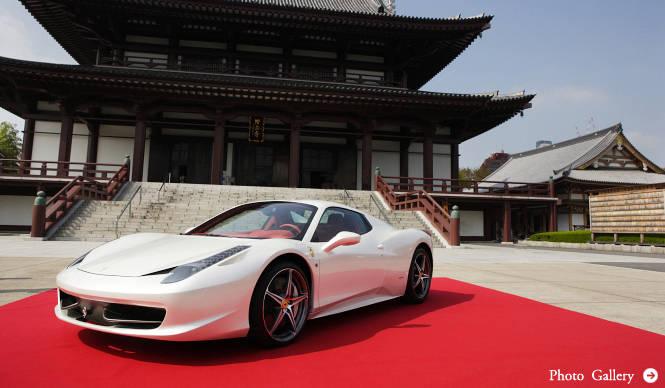 Ferrari 458 SPIDER|史上最速のオープン・フェラーリ日本上陸!