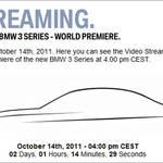 新型BMW 3シリーズが10月14日にワールドプレミア BMW 3 Series