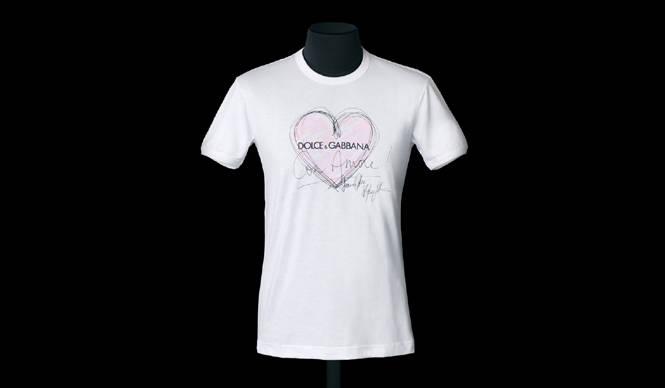 DOLCE & GABBANA|11月5日、チャリティTシャツを限定発売