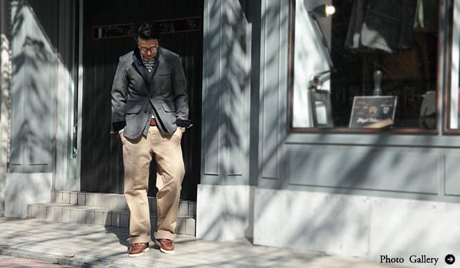 Nigel Cabourn|糸から開発した渾身のシャツ、先行販売スタート!
