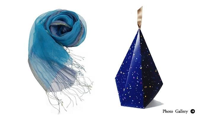"ISSEY MIYAKE INC.|""ミッドナイト・ブルー""がキーカラーのフェア「WINTER GIFT 2011」"