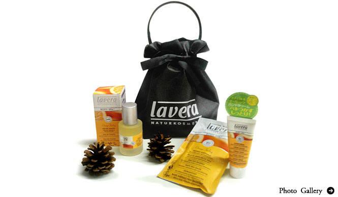 lavera|日本初上陸のオーガニック オードトワレが主役