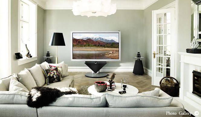 バング&オルフセン初の3D機能搭載85インチプラズマテレビ「BeoVision 4-85」