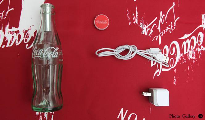 "Coca-Cola|""コンツアーボトル""を再利用した「コカ・コーラ ボトルライト」125個限定発売"