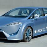 トヨタから2015年の発売を示唆する燃料電池自動車「FCV-R」が登場!|TOYOTA
