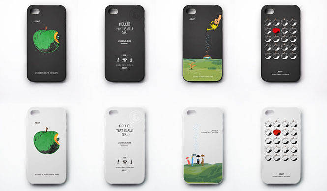 LOWORKS|アートプロジェクト「HOWLT」iPhone4S、4対応ケース