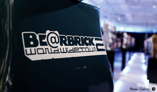 MEDICOM TOY 1000% BE@RBRICKが圧巻「BE@RBRICK WORLD WIDE TOUR 2」開催中