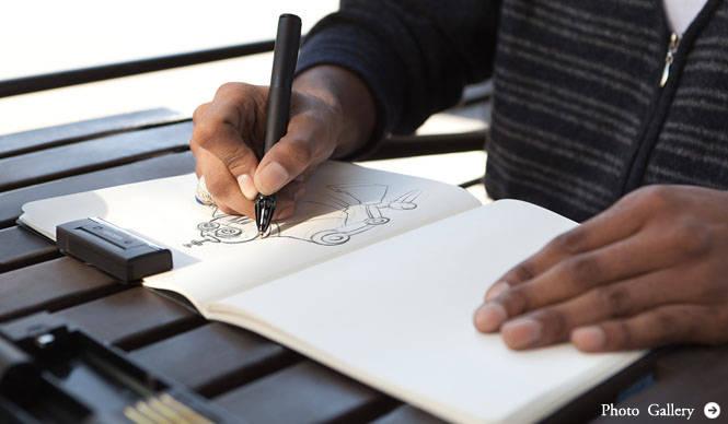 Inkling アイデアを自由に描き残せるデジタルスケッチペン