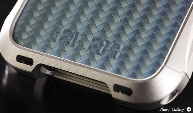 REAL EDGE|iPhone 4/4S用アルミニウム削り出しケース「REAL EDGE C2」