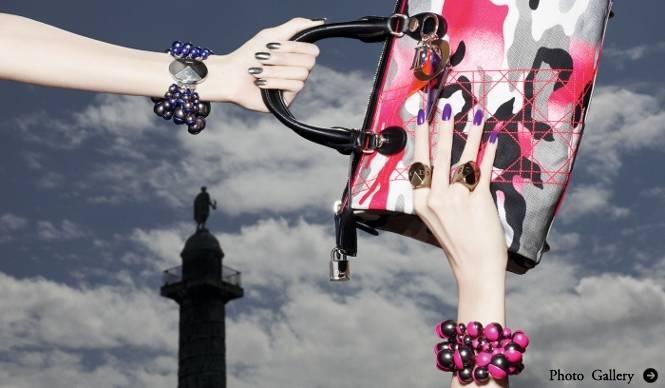 Dior│アンセルム・ライルとコラボレーションしたアクセサリーコレクションが誕生
