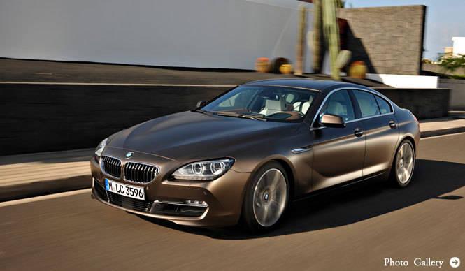 4ドアクーペ BMW 6シリーズ グラン クーペ発表! BMW