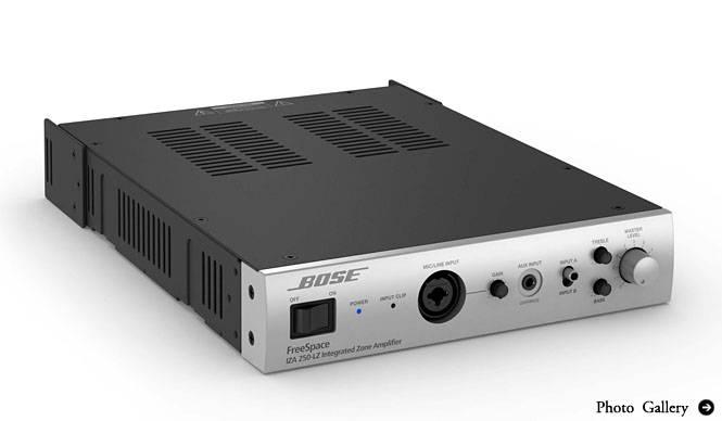 BOSE|小規模空間に最適な小型高音質アンプ新発売