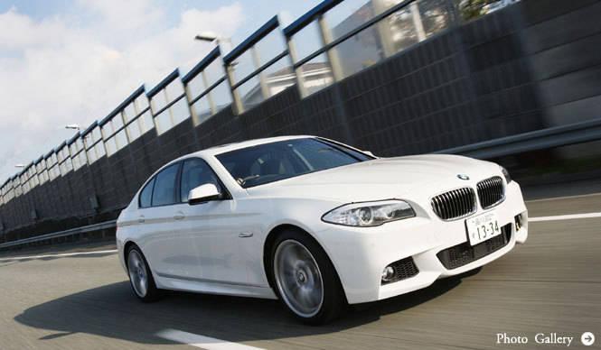 BMWの屋台骨、BMW 5シリーズに試乗