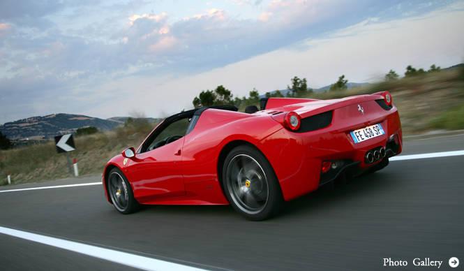鈴木正文が語るフェラーリ458スパイダーの魅力|Ferrari