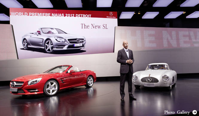 新型SLクラスを発表|Mercedes-Benz