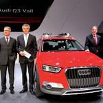 アウディQ3ベースのSUV「ヴェイル」が登場|Audi