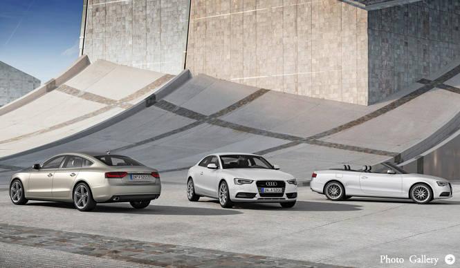 新型アウディA5とS5が発売|Audi