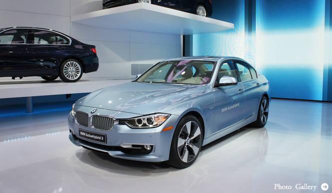 アクティブハイブリッド3がワールドプレミア!|BMW
