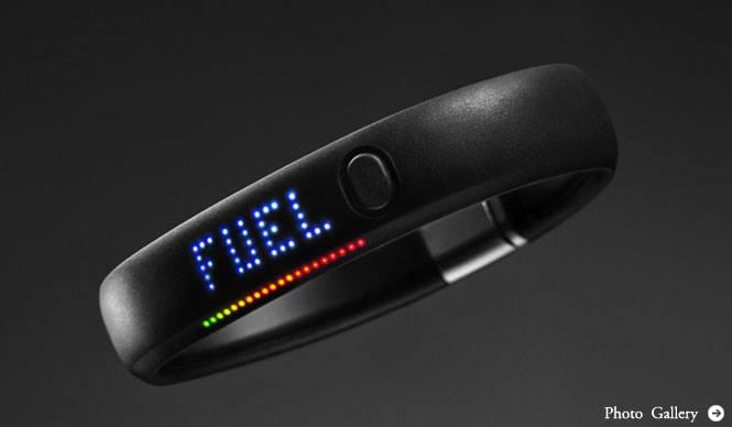 NIKE|毎日を活動的にするデジタルガジェット「NIKE+ FuelBand」発表