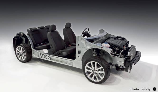 フォルクスワーゲン、モジュール化されたプラットフォームMQBを発表|Volkswagen