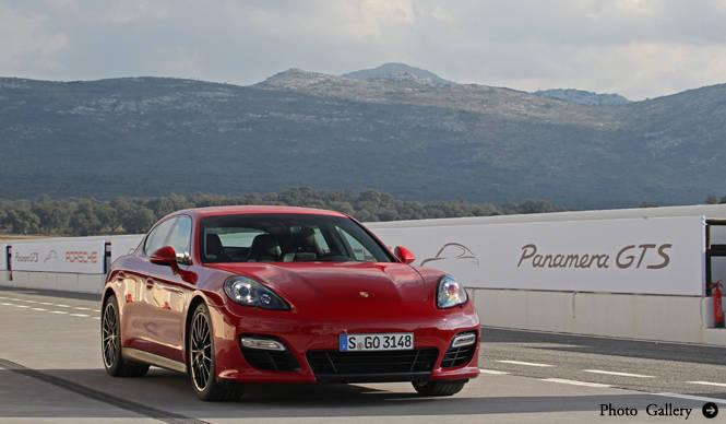 PORSCHE パナメーラ GTSにスペインで試乗