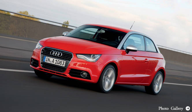 A1、A3、A4の購入予定者20人に10万円相当のクーポンをプレゼント|Audi