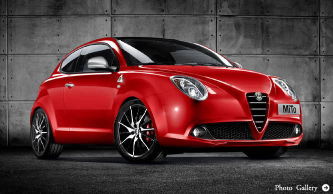 ミトの50台限定車、2月14日より販売開始|Alfa Romeo MiTo